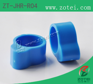 Product Type: ZT-JHR-R04 RFID foot ring for chicken (closed ring)