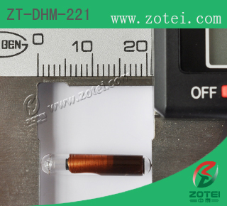 RFID Glass tag ( Product Type: ZT-DHM-221 )