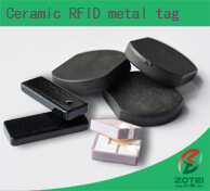 Ceramic RFID metal tag