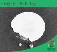 Fragile RFID tag