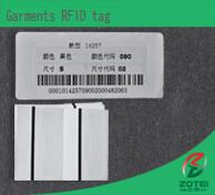Garments RFID tag
