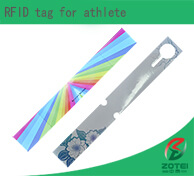 RFID tag for athlete