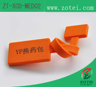 RFID pharmaceutical package tag