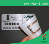RFID pasted ticket