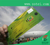 RFID world cup ticket