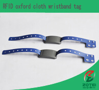RFID oxford cloth wristband tag
