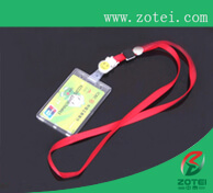 card hanging strap and holder